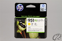 Картридж HP 951XL (CN048AE) yellow/желтый