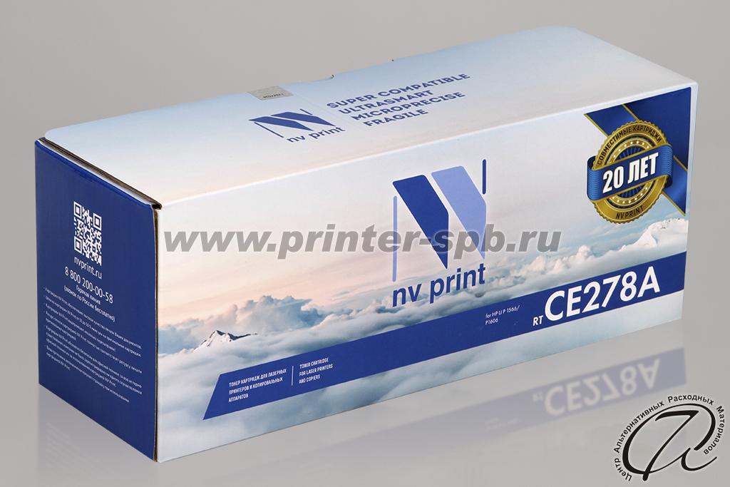 Картридж HP CE278A совместимый   HP 78A Black/Черный
