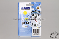 Картридж Epson 27XL yellow/желтый