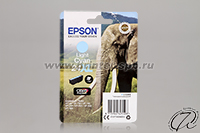 Картридж Epson 24XL light cyan/светло-голубой
