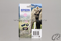 Картридж Epson 24XL light magenta/светло-пурпурный