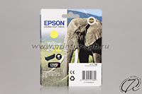 Картридж Epson 24XL yellow/желтый