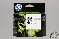 Картридж HP 56 (C6656AE) black