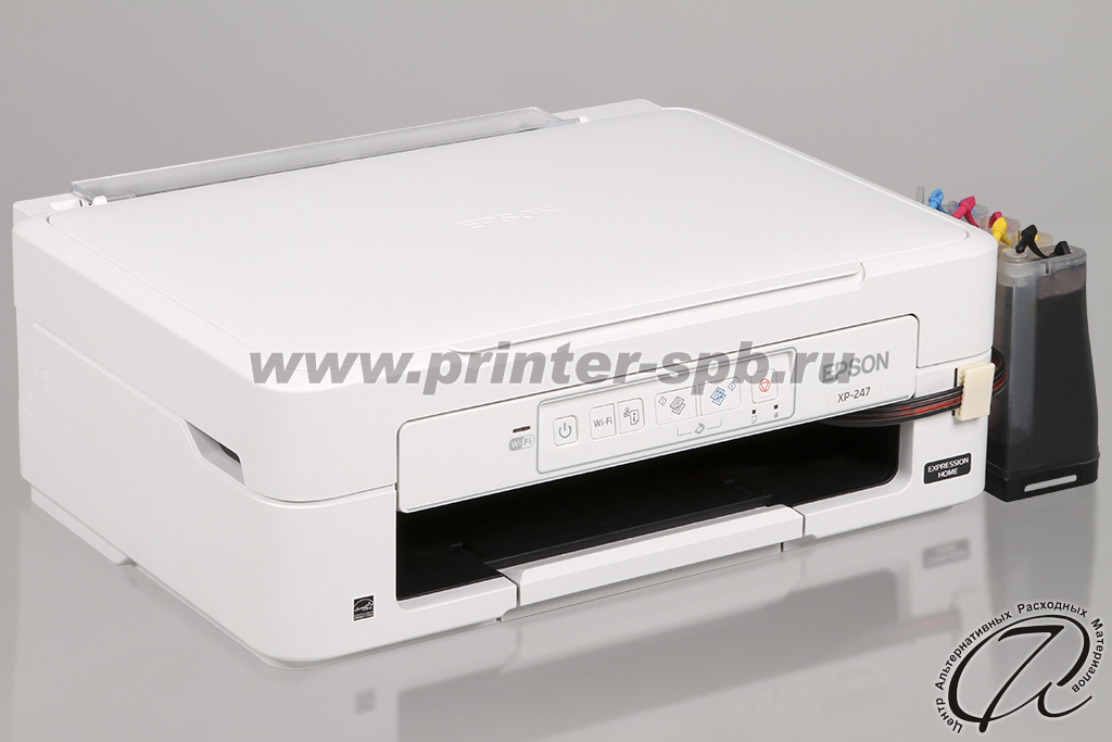 Epson Expression Home XP-247 с СНПЧ
