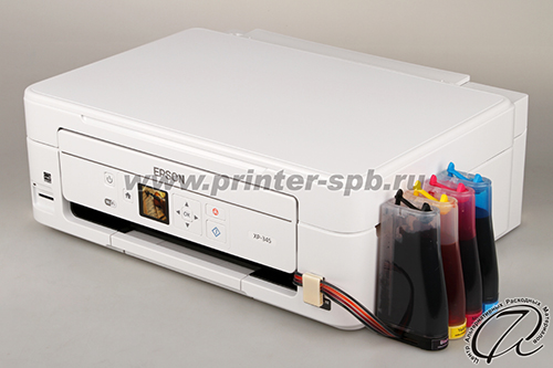 Epson Expression Home XP-345 с СНПЧ