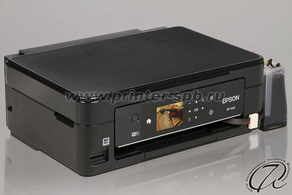 Epson Expression Home XP-442 с СНПЧ