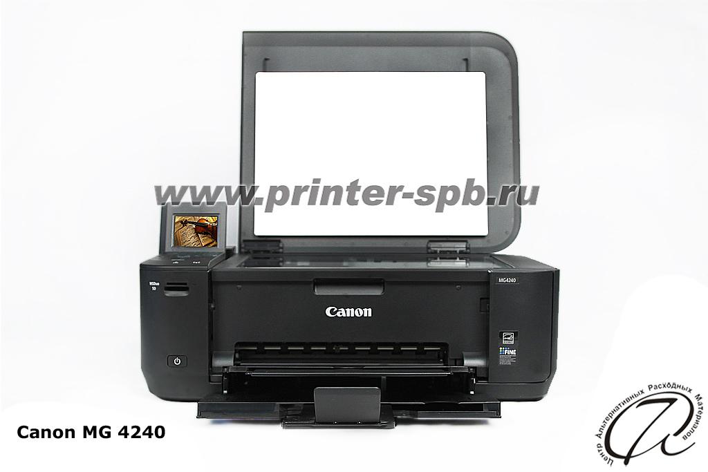 Canon PIXMA MG4240 32 Фотографии Группа А7