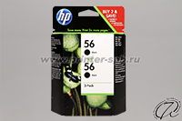 Картридж HP 56 (C9502AE) black