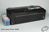 Принтер Epson Stylus Photo 1500W с СНПЧ А7 премиум капсульная + суперчип