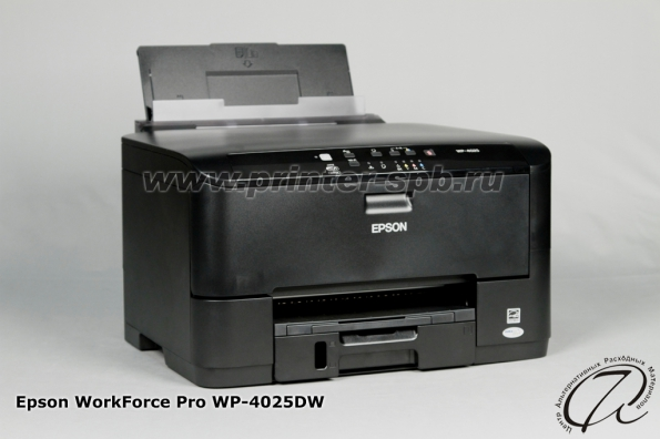 Epson WorkForce Pro WP-4025DW: Вид сбоку