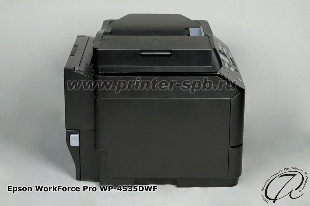 Вид сбоку Epson WorkForce Pro WP-4535DWF
