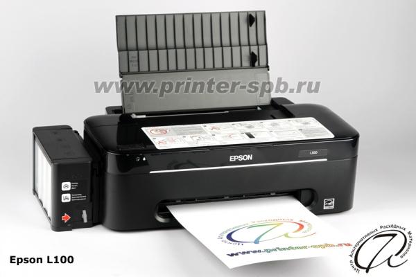 Принтер Epson L100 с СНПЧ