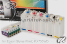 СНПЧ Epson Stylus Photo PX730WD класса премиум картриджная
