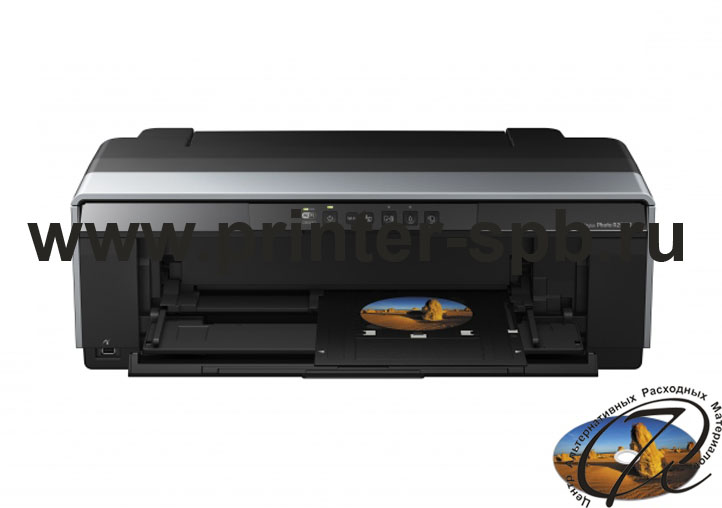 Epson Stylus Photo R2000 печать на CD/DVD
