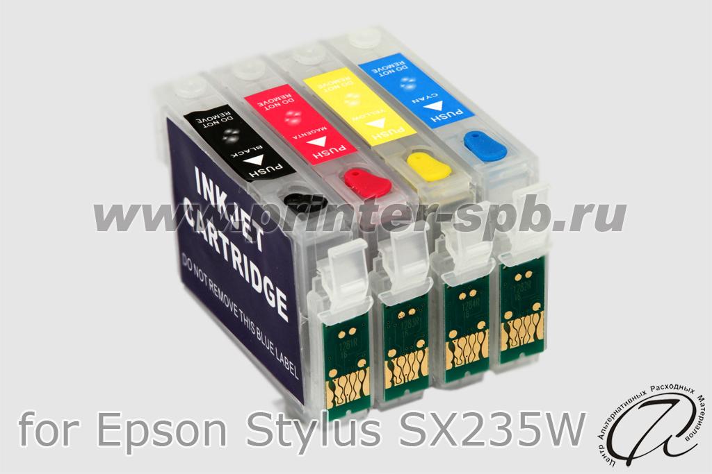 epson epson stylus sx235w скачать программу