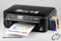 МФУ Epson Stylus SX535WD с СНПЧ А7 СТАНДАРТ капсульная