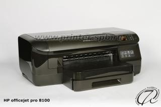 HP OfficeJet PRO 8100: Вид сбоку